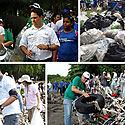 Noventa toneladas de basura se recogieron este año en limpieza nacional de playas