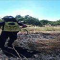 Se inician incendios controlados de herbazales