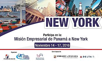 American Chamber of Commerce of Panama with mission to New York in November