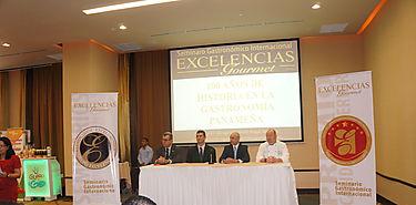 Panamá da por  inaugurado Seminario Gastronómico Internacional Excelencia Gourmet  2014