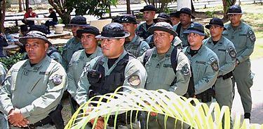 Policía Ecológica celebraron su tercer aniversario