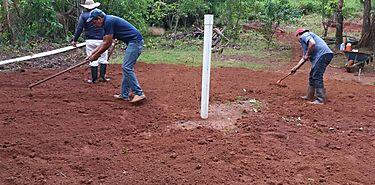 Productores del Distrito Comarcal Ñurum se benefician con la siembra de peces