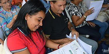 ANATI entrega 200 títulos de propiedad a productores santeños