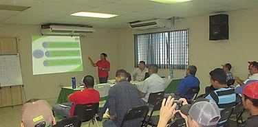 Seminario sobre aplicaciones terrestres en Los Santos