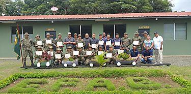 Funcionarios de Cuarentena Agropecuaria en curso intensivo en Darién