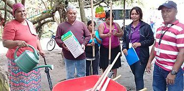 MIDES entrega herramientas agrícolas a Redes Territoriales en Chiriquí