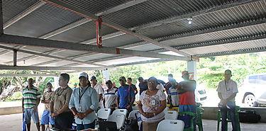 ARAP capacita sobre Normas Pesqueras y Seguridad Marítima a la Comunidad Pesquera de Playa Leona