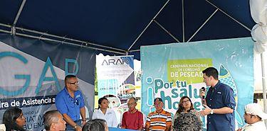 Cuarta Gira de Asistencia a Pescadores en Playa Arenal Pedasí  Los Santos