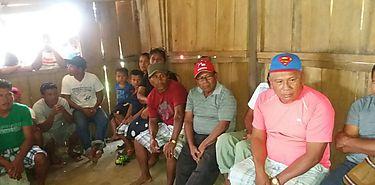 Reunión de la Asociación de Productores y Pescadores Artesanales de Kunikote de la Comarca Gnobe