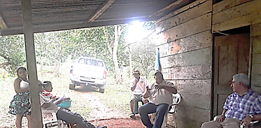 Forman a productores de la comunidad de El Cauchal en Capira en técnicas de venta