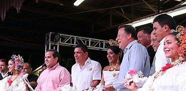 Presidente Varela inaugura Feria de las Flores y resalta aportes del sector agropecuario turístico y floral