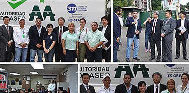 Voluntaria de JICA entrega informe de Educación Ambiental