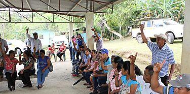 Programa de apoyo al trabajador rural brinda asistencia a grupos organizados de Capira