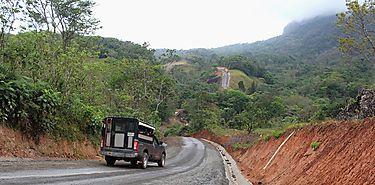 Caminos de Capira son arreglados para apoyar al productor