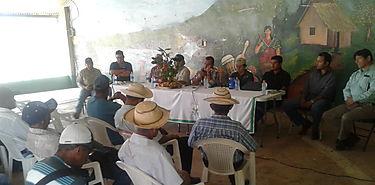 Realizan consejo agropecuario regional en el distrito de Santa Fe