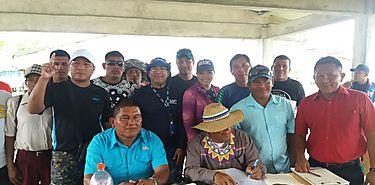 Se escoge nueva Junta Directiva de la Asociación de Productores y Pescadores Artesanales de Kunikote en Bocas del Toro