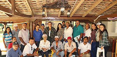 MIDA capacitó a productores en el tema agroturístico