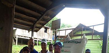 Entregan de Semillas Fortificadas de arroz maíz y plátano en Comarca Gnabe Bugle