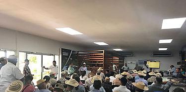 Técnicos y productores de Los Santos participan en jornada de difusión técnica