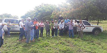 Capacitan a técnicos en planes de manejo de fincas agro ambientales