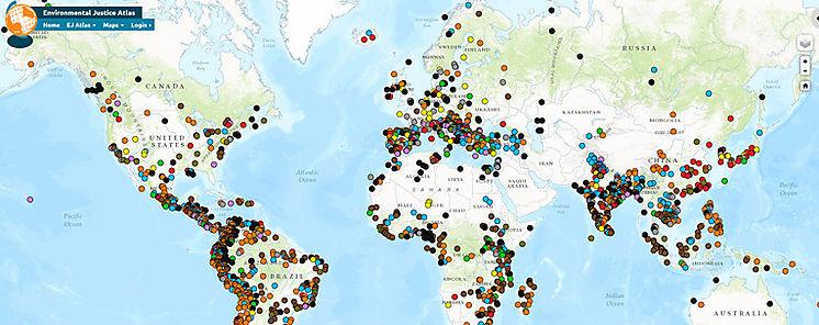 Cuántos conflictos ecológicos existen en el mundo