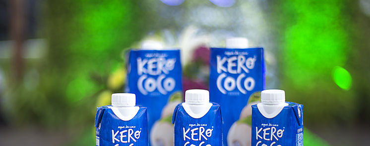 Agua de coco KERO COCO inicia expansión internacional en Panamá