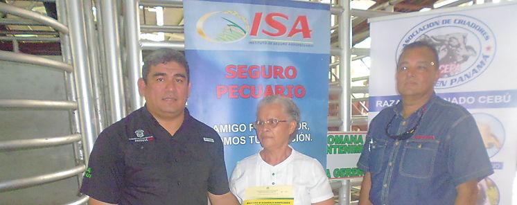 MIDA distribuye sementales bovinos en Chiriquí