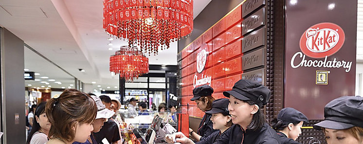 Nestlé lanza el primer chocolate KitKat Ruby del mundo