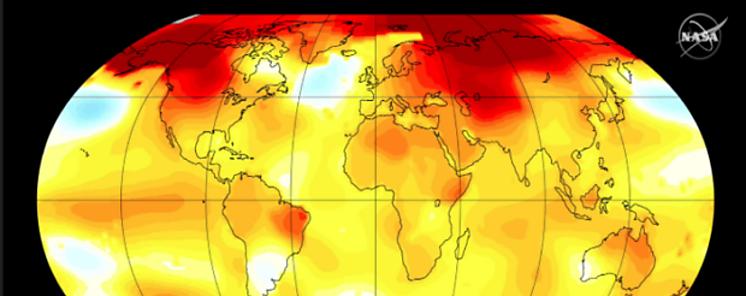 El 2017 fue el segundo año más caliente del que se tiene registro