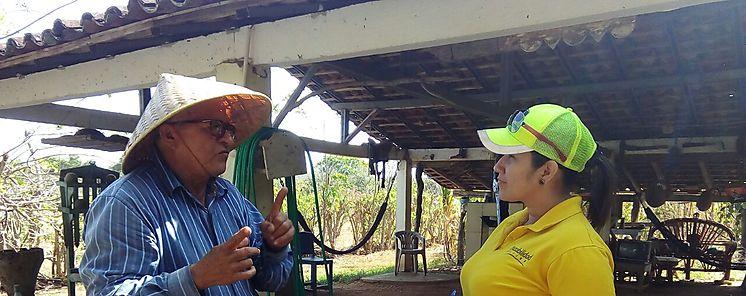 MIDA Los Santos realizo gira a finca agroturística con estudiantes universitarios